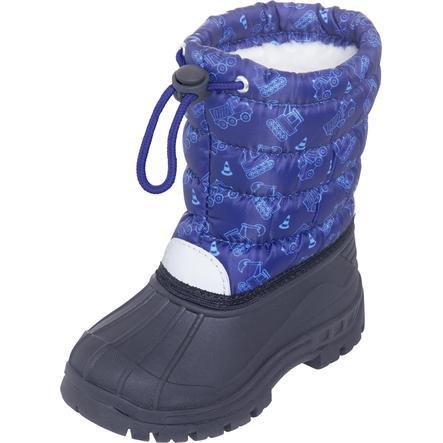 Playshoes  Zimní boty Traffic marine