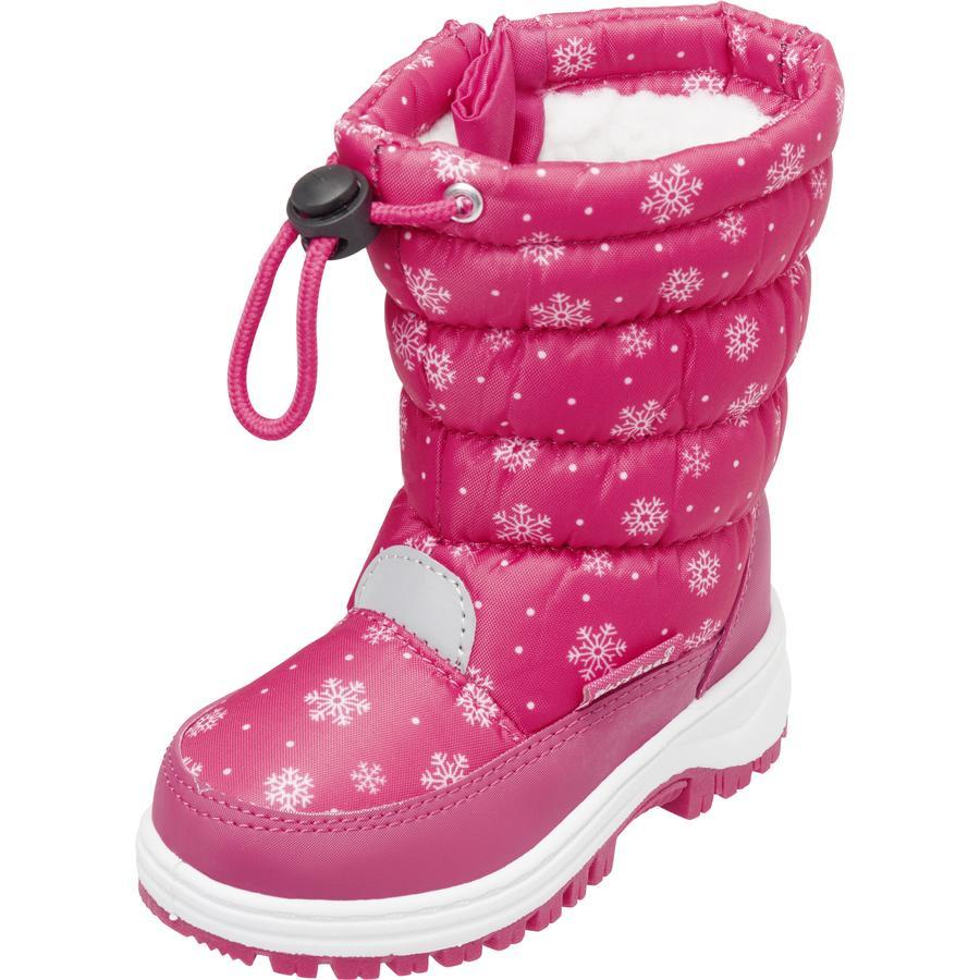 Playshoes Winter-Bootie Schneeflocke