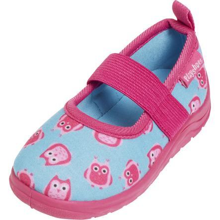 Playshoes  Slipper Monster jean blue