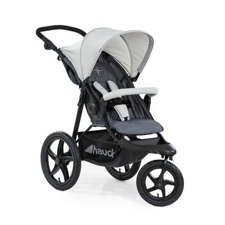 Hauck Runner Sportwagen Buggy Dreirad silver-grey Jogger bis 25 kg NEU