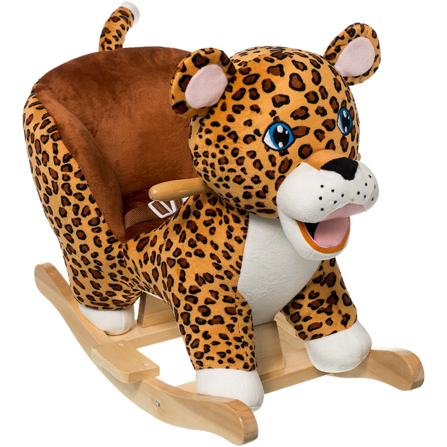 bieco Animal à bascule tigre, bois
