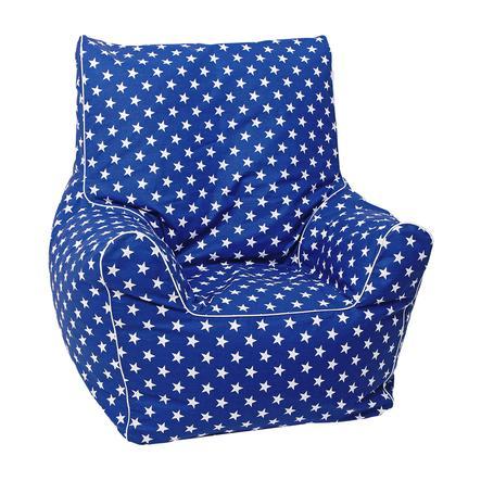 knorr® toys Junior - sedací vak modrý