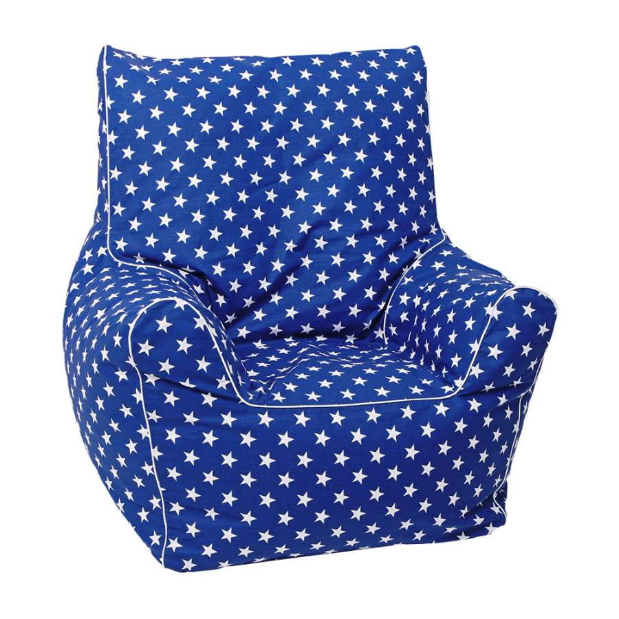 knorr® toys Junior-Sitzsack blau