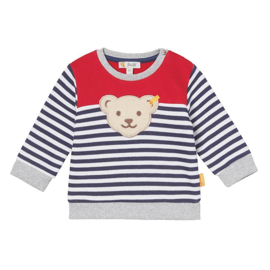 Steiff Boys Sweatshirt, gestreift