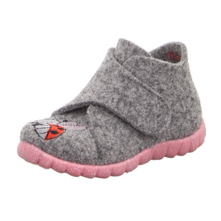 superfit  Girls Zapatilla Happy grey (mediana)