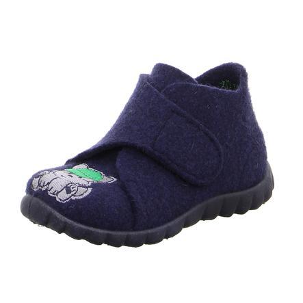 superfit  Ragazzi pantofola Felice blu (medio)