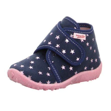 superfit Girls Hausschuh spotty blau