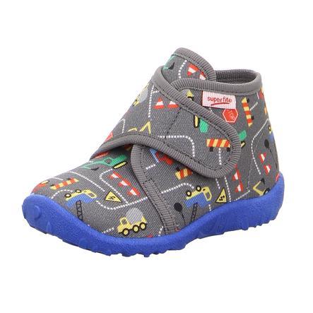 superfit  Chłopcy pantoflarz plamisty szary