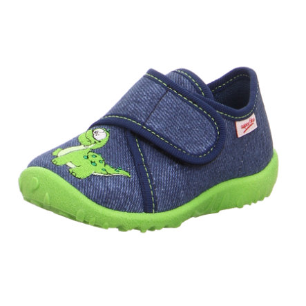 superfit  Ragazzi pantofola Dino spotty blu spotty
