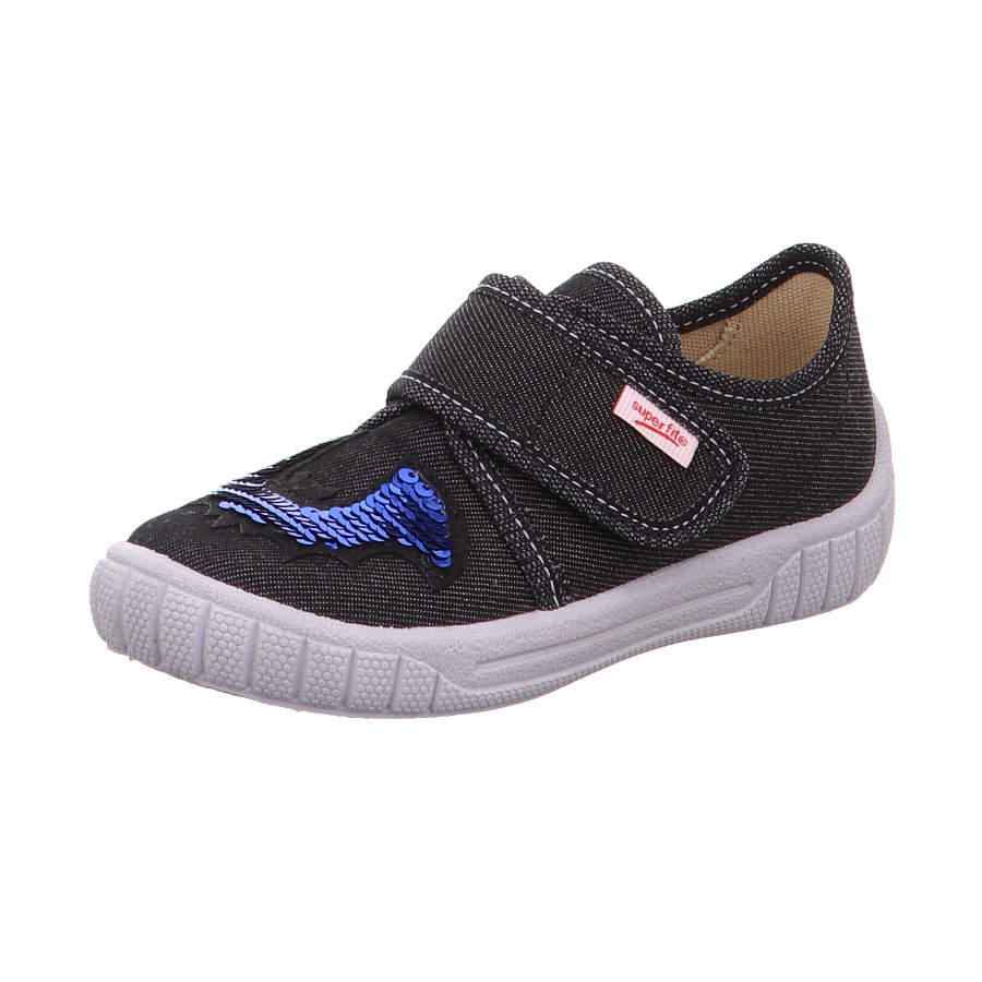 superfit  Ragazzi pantofola Bill nero