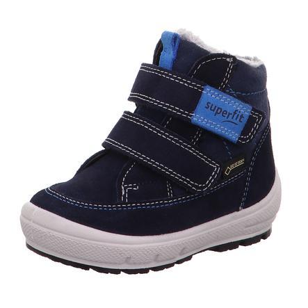 superfit  Chlapecké boty Groovy blue Velcro