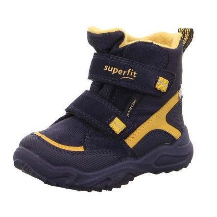 brand new 09a59 11465 superfit Boys Stiefel Glacier blau gelb
