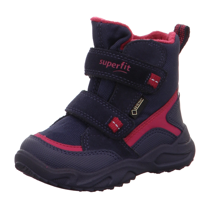 superfit Girls Stiefel Glacier blau rot