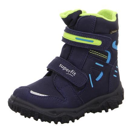 superfit  Boys Boots Husky niebieski niebieski zielony