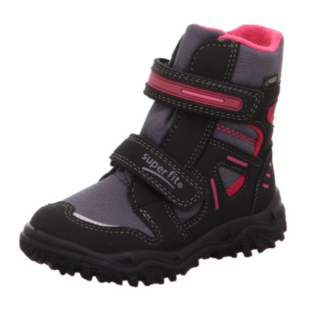 superfit Girls Stiefel Husky schwarz-rot