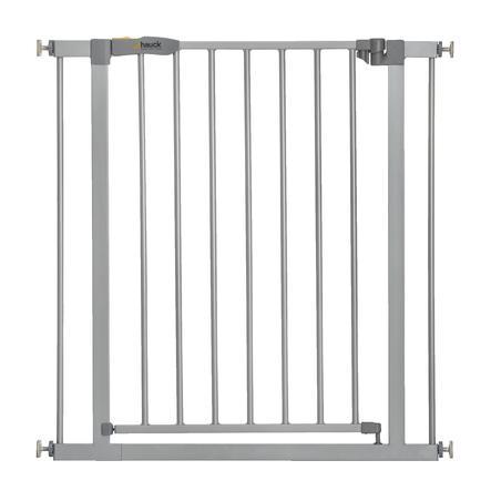 hauck Stop N Safe 2 puerta de protección de la rejilla de plata