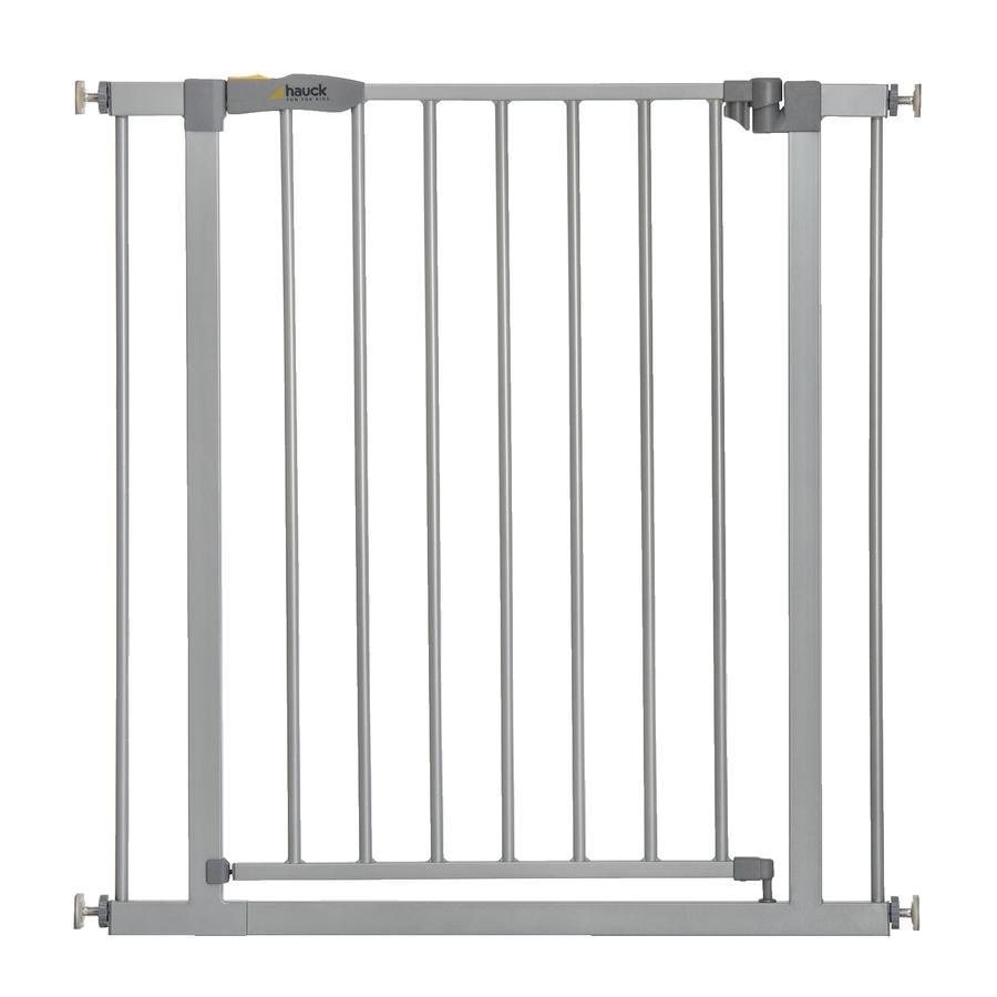 hauck Barrière de sécurité enfant Stop N Safe 2 métal argenté