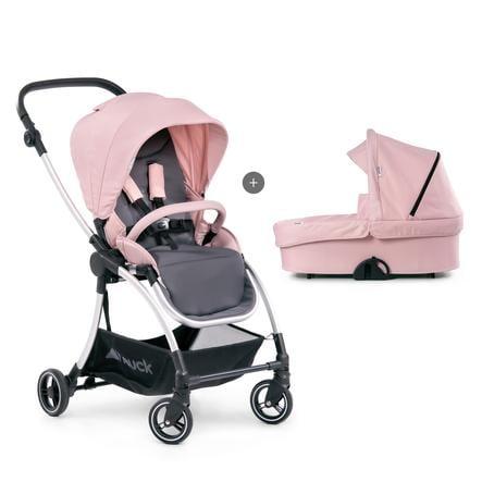 hauck Wózek dziecięcy  Eagle 4S Duoset Pink/Grey