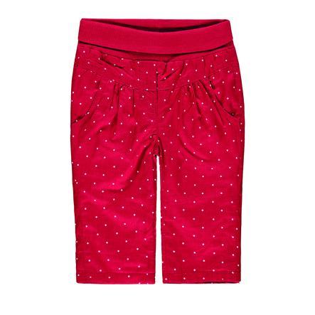 KANZ Girls Pantalón rojo con lunares