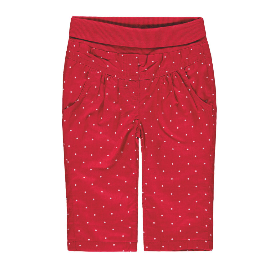 KANZ Girls Pantalon rouge à pois