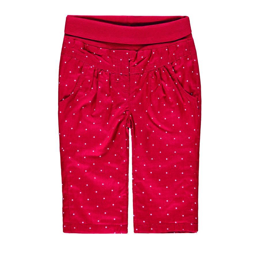 KANZ Jentebukse rød med prikker