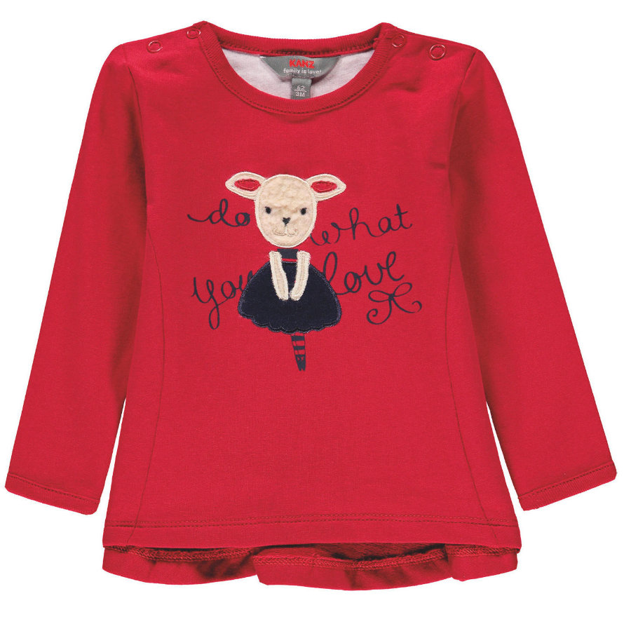 KANZ Girls Sweatshirt, rot