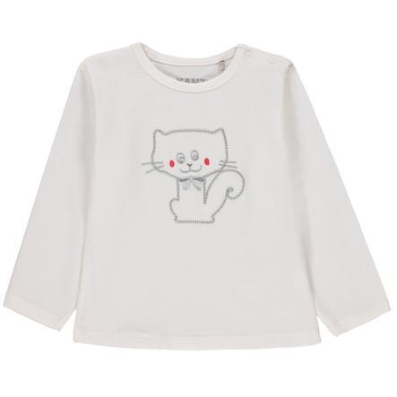 KANZ Chemise manches longues bébé, blanche
