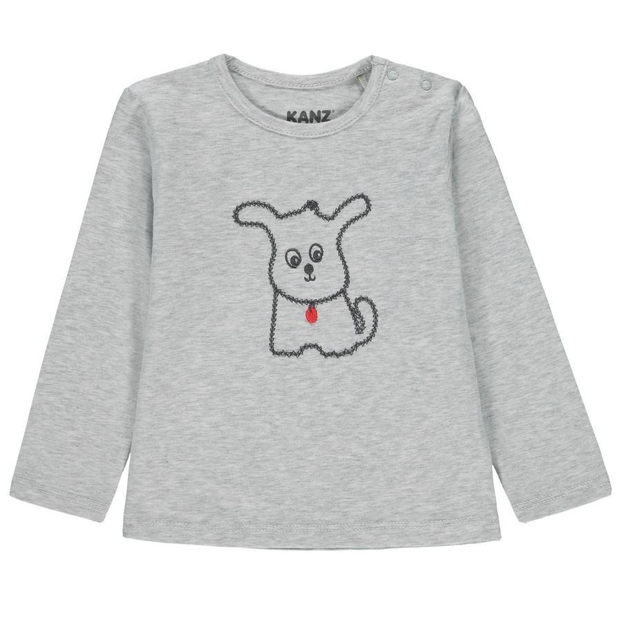 KANZ Baby langermet skjorte, grå