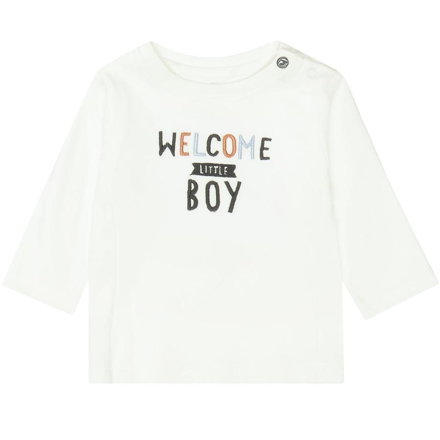 STACCATO  Camisa de niño fuera white