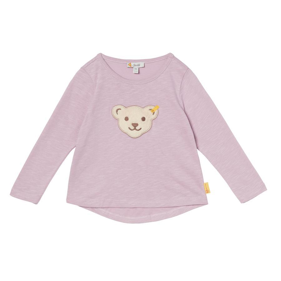 Steiff Girls Shirt met lange mouwen, lavendel rotzooi