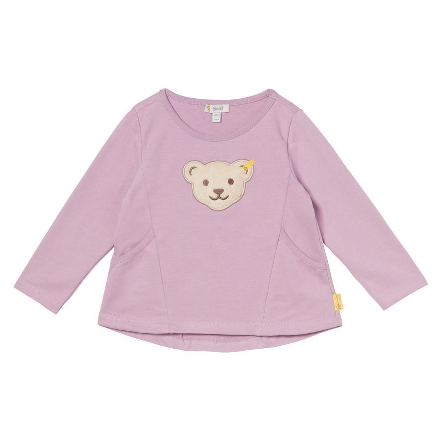 Steiff Girls Sweatshirt, lavender mist