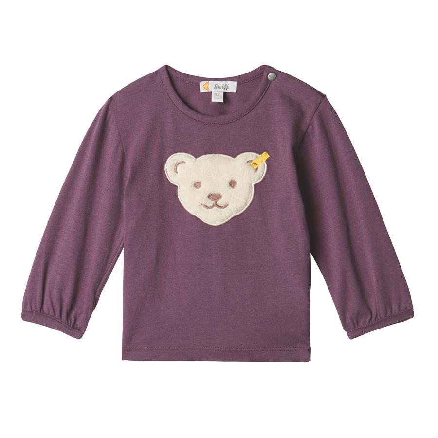 Steiff Girls Langermet skjorte, hortensia