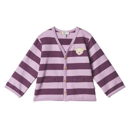 Steiff Girls Tepláková bunda, levandulová mlha