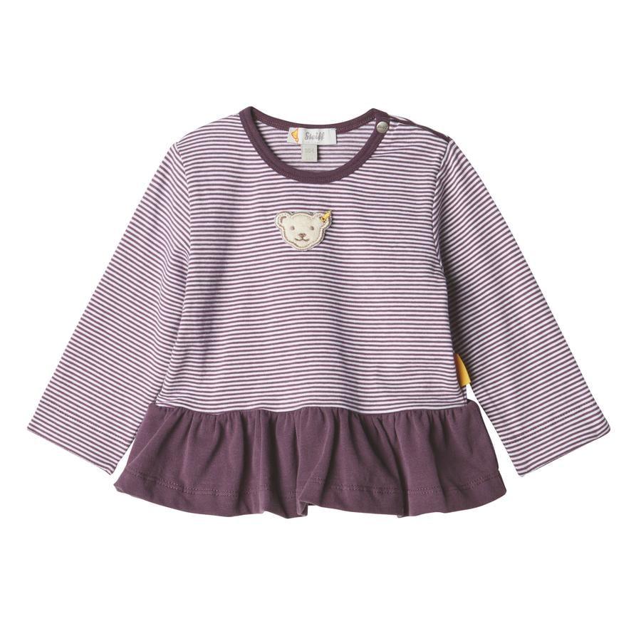 Steiff Girls Langarmshirt, hortensia