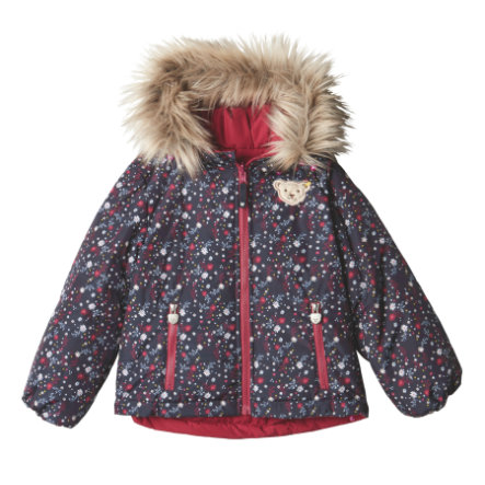 Steiff Girls Wendejacke, beet red