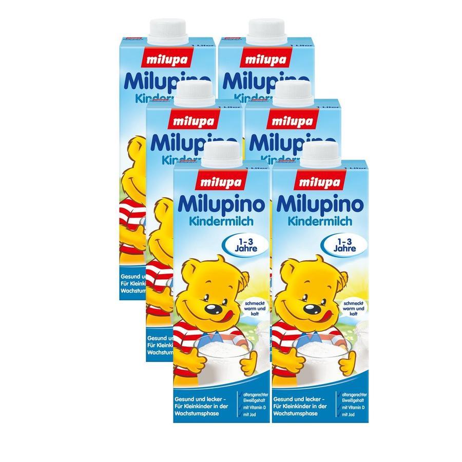 Milupa Kindermilch Milupino trinkfertig 6 x 1 l 1 bis 3 Jahre