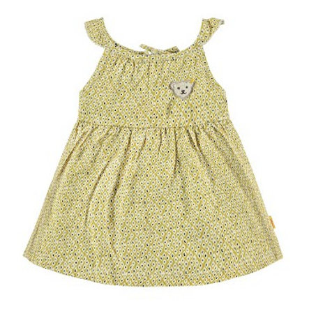 STEIFF Girl s vestido amarillo