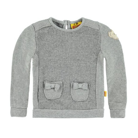 STEIFF Girl Mini Sweatshirt soft grigio