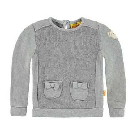 STEIFF Girl s Mini Sweatshirt soft grijs