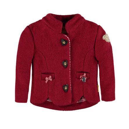 Steiff Girl s Walkjacket bouffon rouge