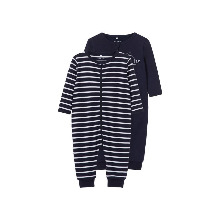 name it Pijama de niño 2er pack zafiro oscuro