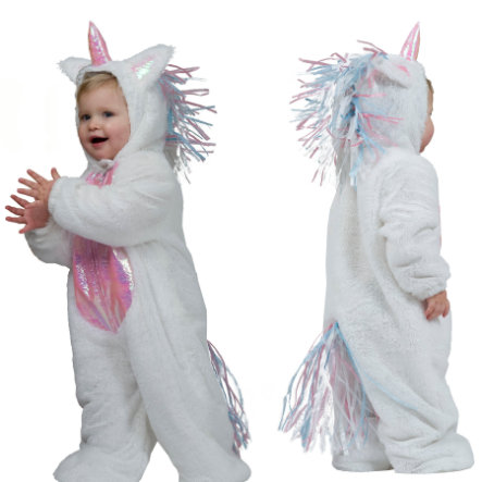 FUNNY FASHION Carnival Costume Unicorn Overall