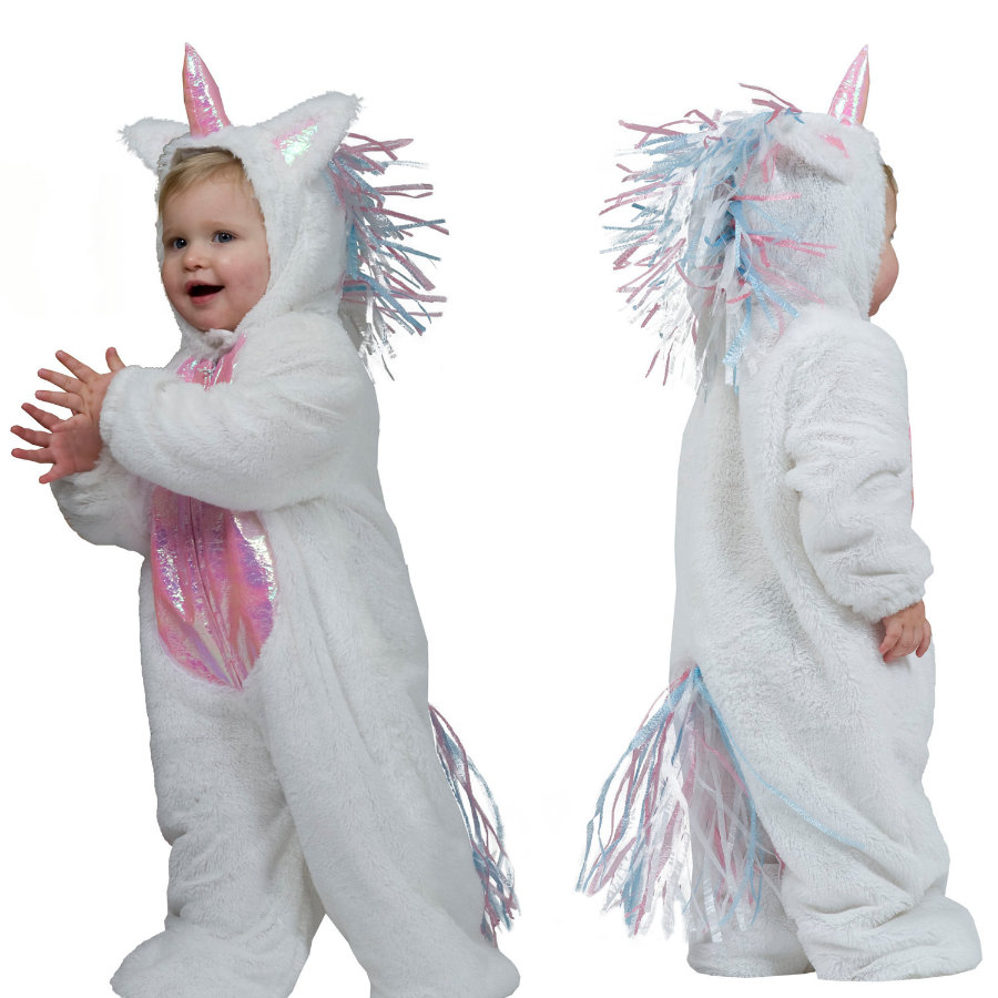 FUNNY FASHION Costume di Carnevale Unicorno