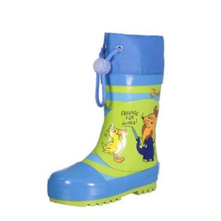 Playshoes  Bottes en caoutchouc bottes amis pour toujours bleu