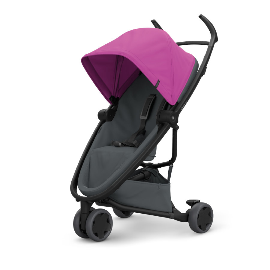 Quinny Buggy Zapp Flex Pink on Graphite
