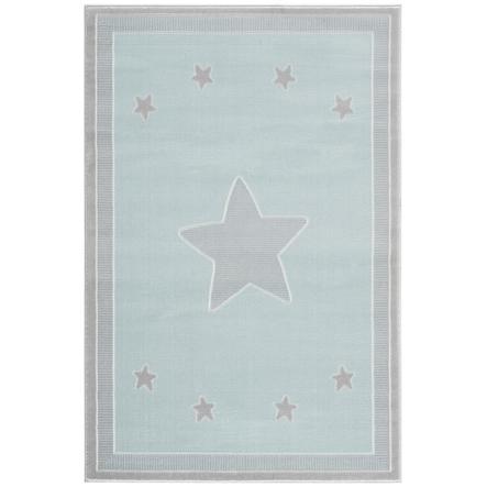 LIVONE play a dětský koberec Happy Rugs - Prince ss mincovna / stříbrošedá, 160 x 230 cm