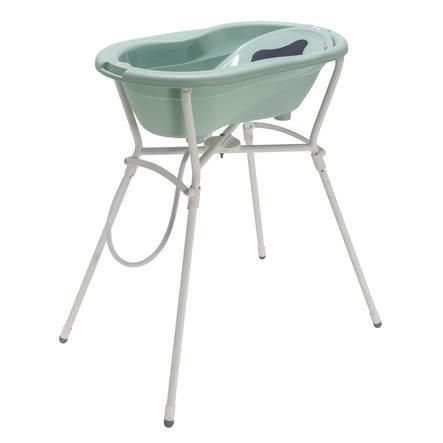 Rotho Set de bain baignoire sur pieds bébé TOP 4 pièces swedish green