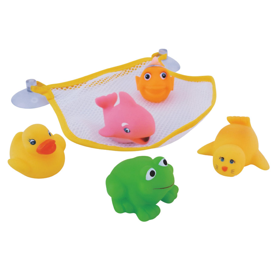 BIECO Badekarsnet med 5 dyr