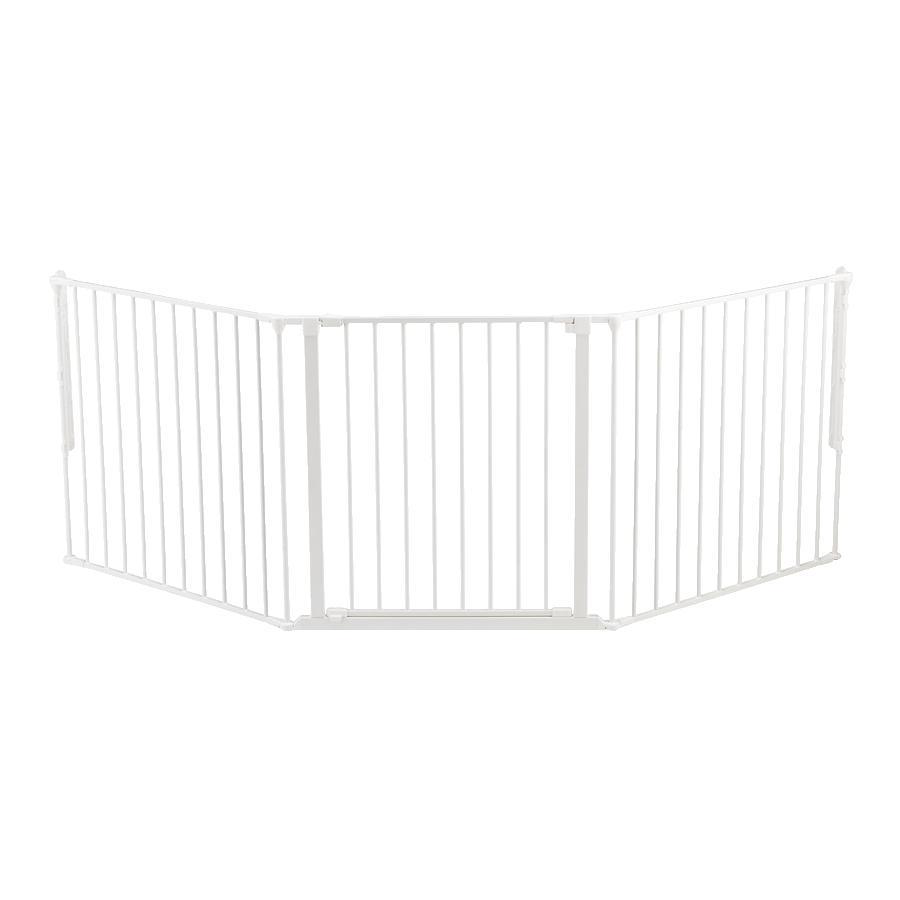 BabyDan Schutzgitter Flex L weiß