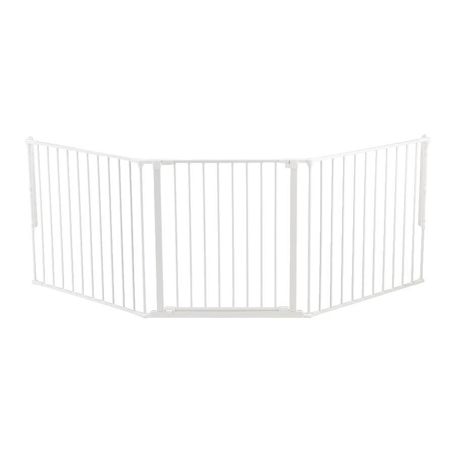 BabyDan sikkerhedsafskærmning Flex L hvid